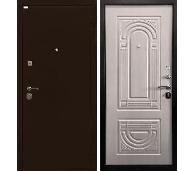 Входная металлическая дверь Ратибор Оптима 3К (Медный антик / Экодуб)
