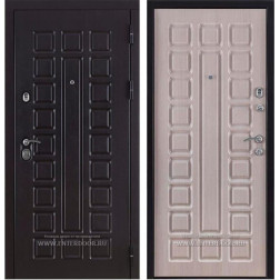 Входная металлическая дверь Консул (Венге / Дуб беленый)