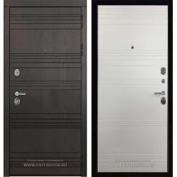 Входная металлическая дверь Министр (Шоколад / Кантри светлая)