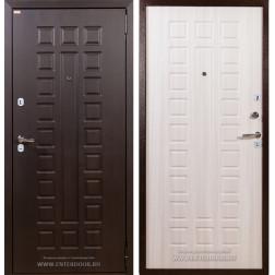 Входная металлическая дверь Лекс Гладиатор Нео 2К Сандал белый