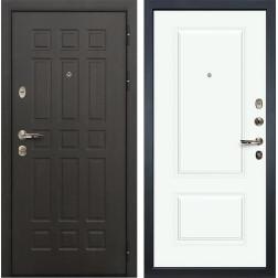 Входная дверь Лекс 8 Сенатор Вероника-1 Эмаль белая (панель №55)