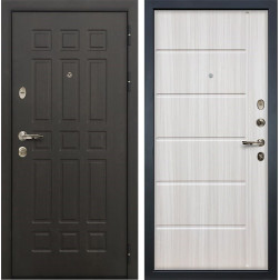 Входная металлическая дверь Лекс 8 Сенатор Сандал белый (панель №42)