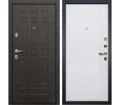 Входная металлическая дверь Лекс 8 Сенатор Ясень белый (панель №62)