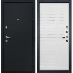 Входная металлическая дверь Лекс 2 Рим Ясень белый (панель №36)