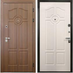 Входная дверь Интекрон Олимпия (Орех бренди / Ясень белый)