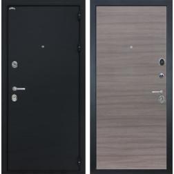 Входная стальная дверь Интекрон Колизей (Чёрный шелк / Дуб Тоскано)