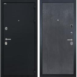 Входная металлическая дверь Интекрон Греция (Чёрный шелк / ЭкоВенге)