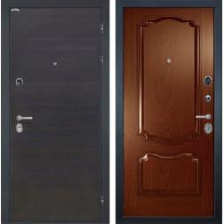 Входная дверь Интекрон Сицилия Позитано Шпон (ЭкоВенге / Дуб бургундский)