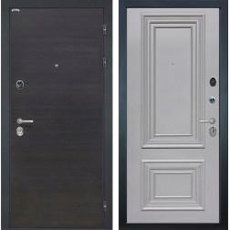 Входная дверь Интекрон Сицилия Сан Ремо 2 (ЭкоВенге / Пыльно-серый RAL 7037)