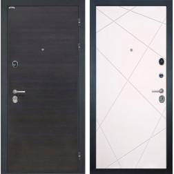 Входная металлическая дверь Интекрон Сицилия Лучи-М (ЭкоВенге / Софт Милк)