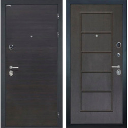 Входная металлическая дверь Интекрон Сицилия ФЛ-39 (ЭкоВенге / Орех премиум)