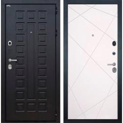 Входная металлическая дверь Интекрон Сенатор Лучи-М (Венге / Софт Милк)