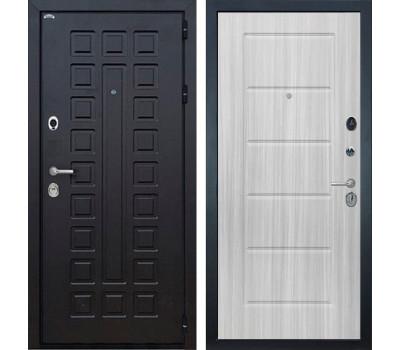 Входная металлическая дверь Интекрон Сенатор ФЛ-39 (Венге / Сандал белый)