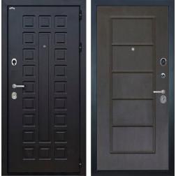 Входная металлическая дверь Интекрон Сенатор ФЛ-39 (Венге / Орех премиум)