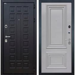 Входная дверь Интекрон Сенатор Сан Ремо 2 (Венге / Пыльно-серый RAL 7037)