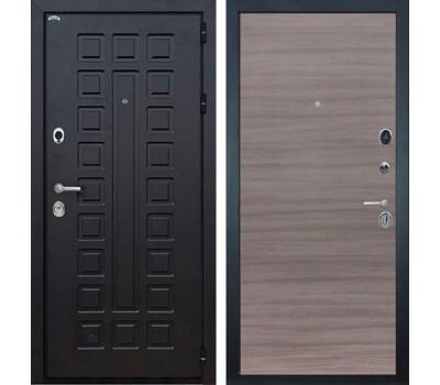 Входная металлическая дверь Интекрон Сенатор (Венге / Дуб Тоскано)
