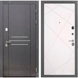 Входная металлическая дверь Интекрон Сенатор Лофт Лучи-М (Софт Милк)