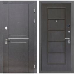 Входная металлическая дверь Интекрон Сенатор Лофт ФЛ-39 (Орех премиум)