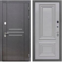 Входная дверь Интекрон Сенатор Лофт Сан Ремо 2 (Пыльно-серый RAL 7037)