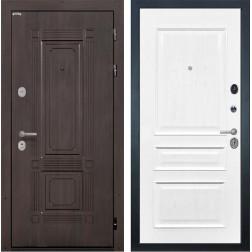 Входная металлическая дверь Интекрон Италия Валентия-2 Шпон (Венге / Ясень жемчуг)