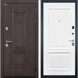 Входная металлическая дверь Интекрон Италия Валентия-4 Шпон (Венге / Ясень жемчуг)