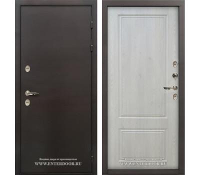 Уличная входная дверь с терморазрывом Лекс Термо Стандарт 3К (Сосна белая)