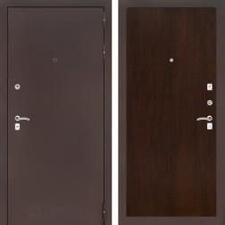 Входная дверь Лабиринт Классик 5 (Антик медный / Венге)