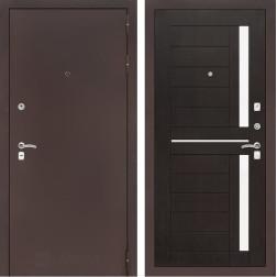 Входная дверь Лабиринт Классик 2 (Антик медный / Венге)