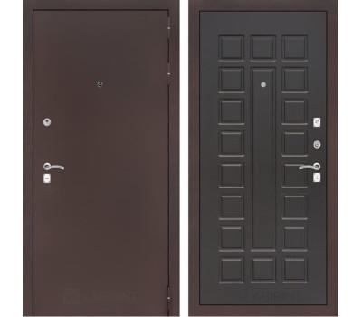 Входная металлическая дверь Лабиринт Классик 4 (Антик медный / Венге)