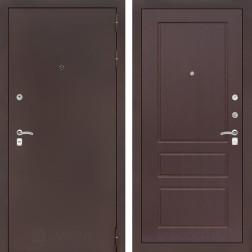 Входная дверь Лабиринт Классик 3 (Антик медный / Орех премиум)