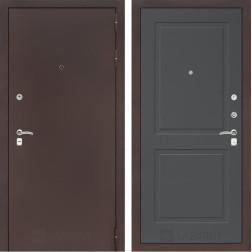 Входная дверь Лабиринт Классик 11 (Антик медный / Графит софт)