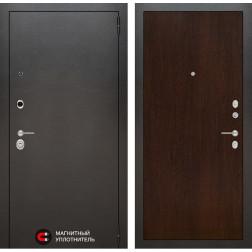 Входная дверь Лабиринт Сильвер 5 (Антик темное серебро / Венге)