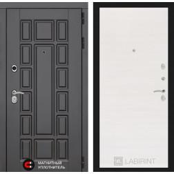 Входная металлическая дверь Лабиринт Нью-Йорк 7 (Белое дерево)