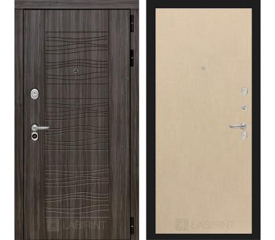 Входная металлическая дверь Лабиринт Сканди 5 (Дарк Грей / Венге светлый)