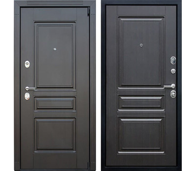 Входная металлическая дверь АСД Гермес 3К New (Венге / Венге)