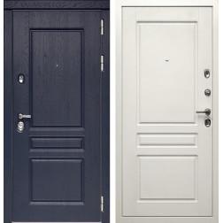 Входная дверь Дива МД-45 (Роял вуд Синий / Белый матовый)