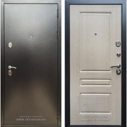 Входная дверь Армада 5А ФЛ-243 (Антик серебро / Дуб беленый)