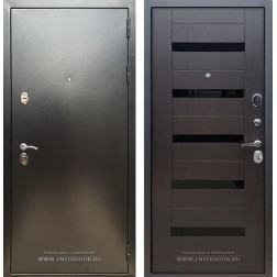 Входная дверь Армада 5А СБ-14 (Антик серебро / Венге)