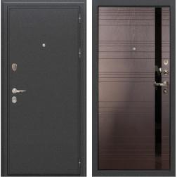 Входная металлическая дверь Лекс Колизей Ясень шоколад (панель №31)