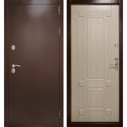 Уличная дверь с терморазрывом Термаль Ультра (Дуб белёный)
