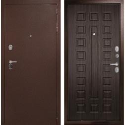 Входная дверь ДК Гарант-1 3К (Медный антик /  ЭкоВенге)