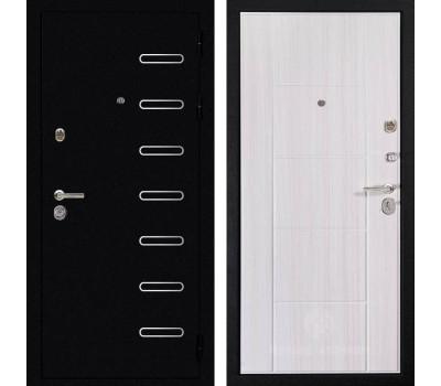 Входная металлическая дверь Дива МД-21 (Титан / Сандал белый)
