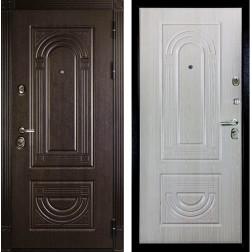 Входная металлическая дверь Дива МД-32 (Венге / Дуб Филадельфия крем)