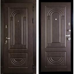 Входная металлическая дверь Дива МД-32 (Венге / Венге)
