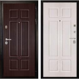 Входная металлическая дверь Дива МД-07 (Венге / Дуб белёный)