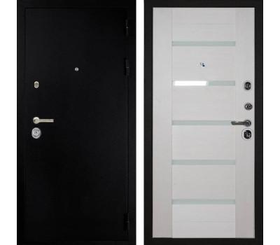 Входная металлическая дверь Дива МД-05 (Титан / Лиственница белёная)