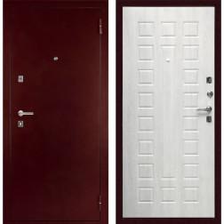Входная металлическая дверь Дива С-504 (Антик медный / Дуб белёный)