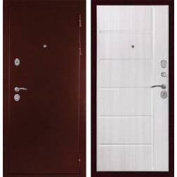 Входная металлическая дверь Дива С-503 (Антик медный / Сандал белый)