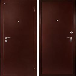 Входная металлическая дверь Дива С-501 (Антик медный / Антик медный)