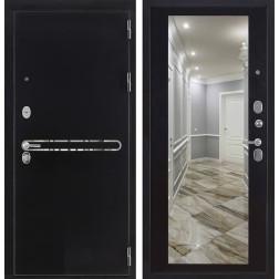 Входная металлическая дверь Президент S1Z с зеркалом (Венге)